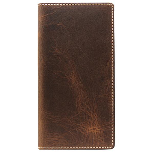 SLG Design 手帳型スマホケース Badalassi Wax case iPhone 6/6s用 ブラウン SD6677IP6S [SD6677IP6S]