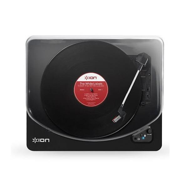 ION レコードプレーヤー Air LP ピアノブラック IA-TTS-019 [IATTS019]【MVSP】