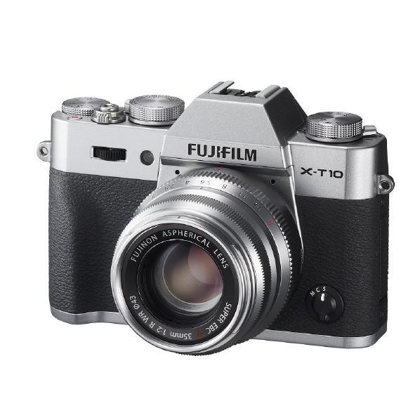 富士フイルム デジタル一眼カメラ・レンズキット X-T10 シルバー F X-T10LK35F2-S [FXT10LK35F2S]【RNH】【SYBN】【MMARP】