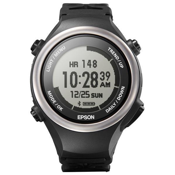 エプソン 腕時計型活動量計 PULSENSE エナジャイズドブラック PS-600B [PS600B]【RNH】