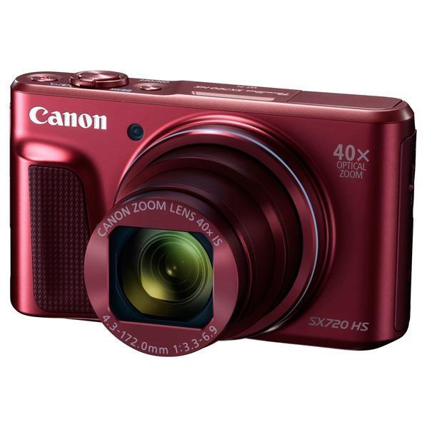 キヤノン デジタルカメラ PowerShot SX720 HS レッド PSSX720HSRE [PSSX720HSRE]【RNH】