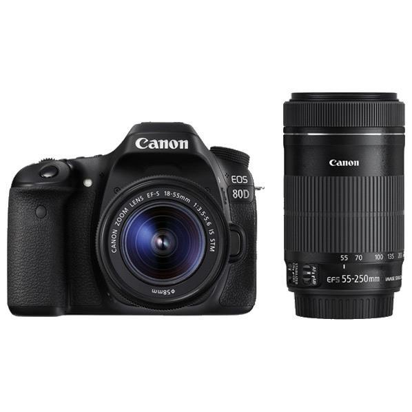 キヤノン デジタル一眼レフカメラ・ダブルズームキット EOS 80D EOS80DWKIT [EOS80DWKIT]【RNH】【MSPT】