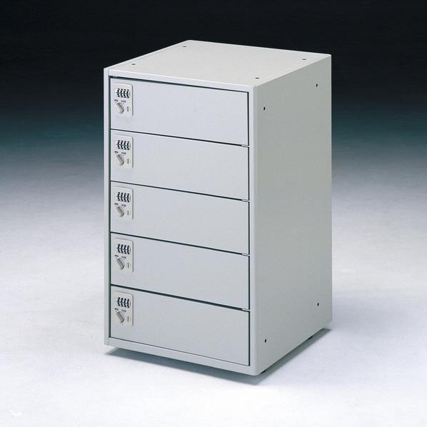 【送料無料】サンワサプライ ノートパソコン収納キャビネット(5台収納) CAI-CAB4-5DN [CAICAB45DN]