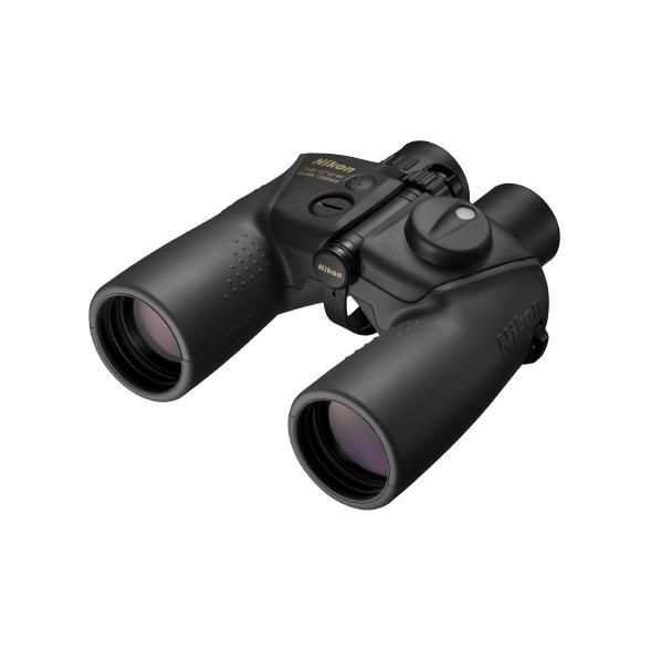 世界のどの地域で使用しても正確な方位を示すグローバルコンパスと、スケールを搭載。 ニコン 双眼鏡 7x50CF WP GLOBAL COMPASS 7X50GC [7X50GC]