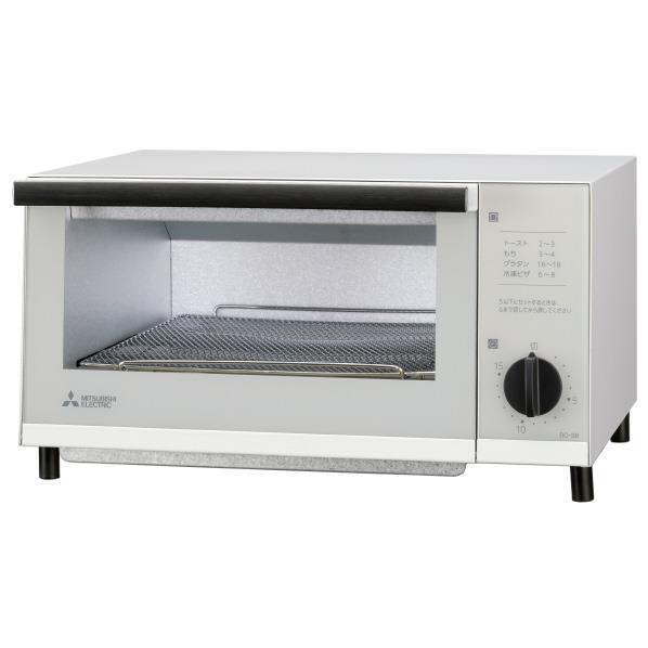 三菱 オーブントースター ホワイト BO-S6-W [BOS6W]【RNH】