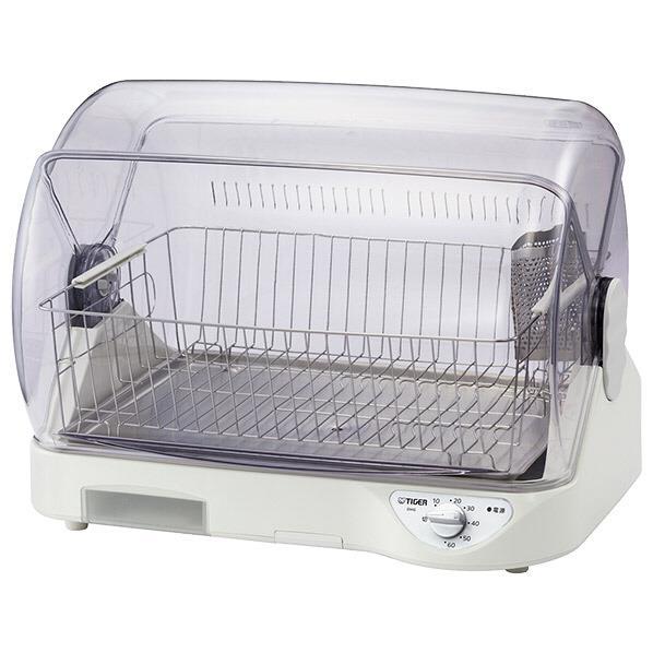 タイガー 食器乾燥器 温風式 サラピッカ ホワイト DHGS400W [DHGS400W]【RNH】