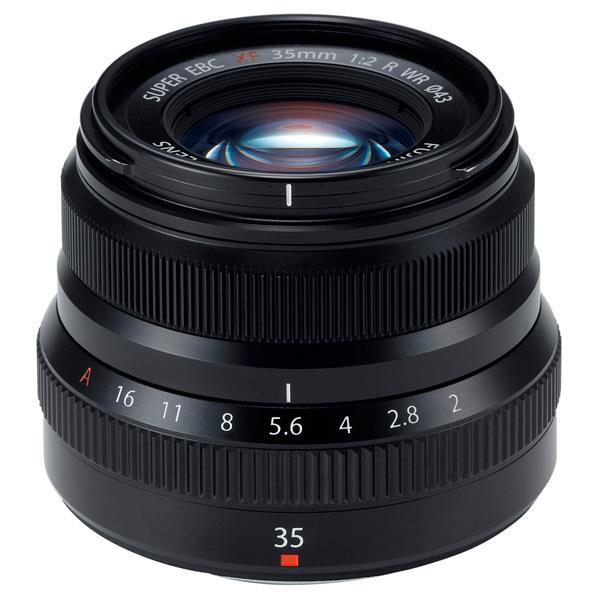 富士フイルム 標準単焦点レンズ フジノンレンズ XF35mmF2 R WR ブラック F XF35MMF2 R WR B [FXF35MMF2RWRB]