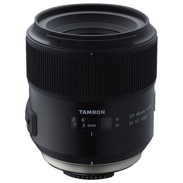 タムロン ニコン用 標準単焦点レンズ SP 45mm F/1.8 Di VC USD Model F13 F013N [F013N]