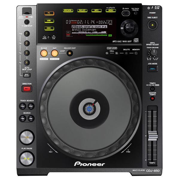 【送料無料】パイオニアDJ パフォーマンスマルチプレーヤー ブラック CDJ-850-K [CDJ850K]