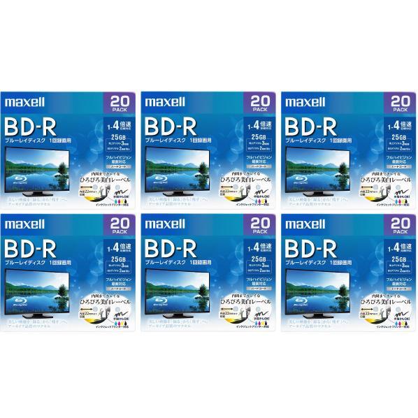 マクセル BRV25WPE20SP6 [BRV25WPE20SP6] 録画用25GB 1-4倍速対応 20枚入り BD-R追記型 ブルーレイディスク 20枚入り 6個セット BRV25WPE20SP6 [BRV25WPE20SP6], R&Mインテリアストア:7cb81c69 --- sunward.msk.ru
