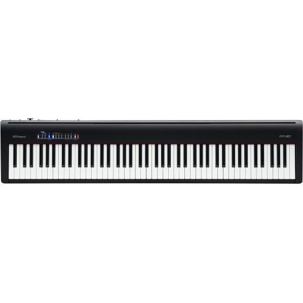 ローランド 電子ピアノ ブラック FP-30-BK [FP30BK]