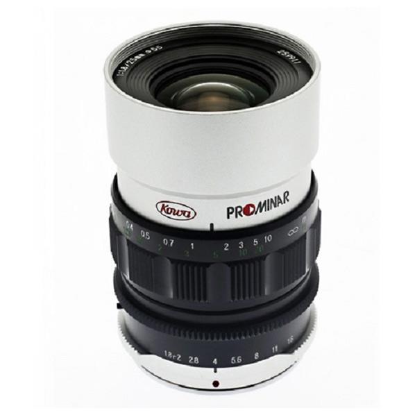 KOWA 単焦点標準レンズ PROMINAR 25mm F1.8 シルバー PROMINAR 25MM F1.8シルバ- [PROMINAR25MMF18シルバ-]