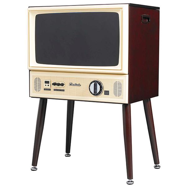 ドウシシャ 20V型ハイビジョン液晶テレビ ヴィンテージシリーズ ダークブラウン VT203-BR [VT203BR]【KK9N0D18P】【RNH】【OCFH】【MRPT】
