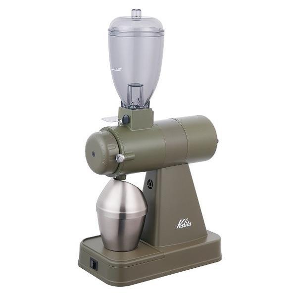 カリタ コーヒーグラインダー NEXT G アーミーグリーン KCG-17(AG) [KCG17AG]