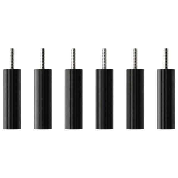 タオック BSR-L type用支柱セット(10cm・6本1組) ブラックつや消し BSR-P610 [BSRP610]