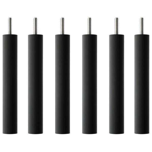 タオック BSR-L type用支柱セット(20cm・6本1組) ブラックつや消し BSR-P620 [BSRP620]