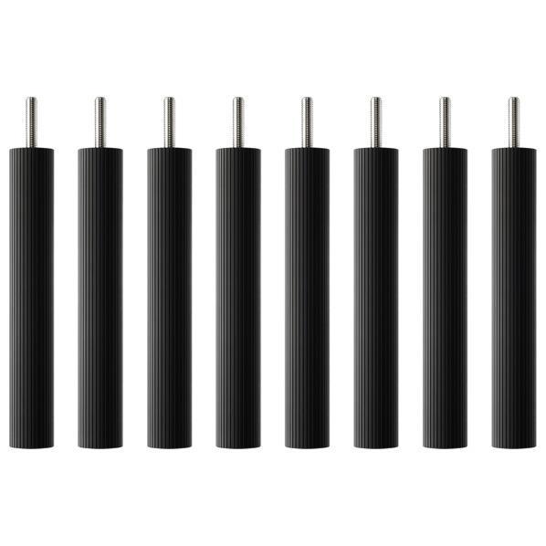 タオック BSR-W type用支柱セット(20cm・8本1組) ブラックつや消し BSR-P820 [BSRP820]