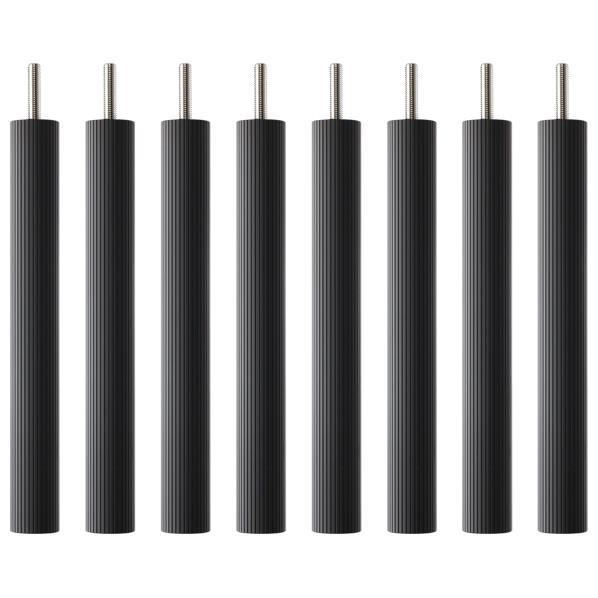 【送料無料】タオック BSR-W type用支柱セット(25cm・8本1組) ブラックつや消し BSR-P825 [BSRP825]