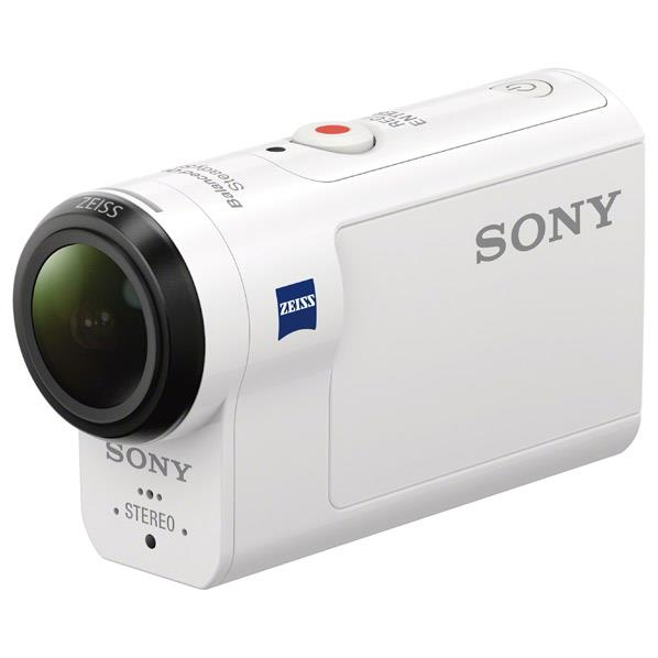 SONY デジタルHDビデオカメラレコーダー アクションカム ホワイト HDR-AS300 [HDRAS300]【RNH】