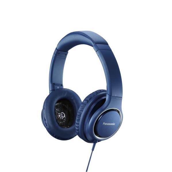 【送料無料】パナソニック ハイレゾ対応 密閉オーバーヘッド型ヘッドフォン ブルー RP-HD5-A [RPHD5A]【RNH】