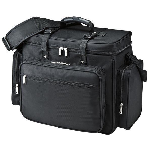 サンワサプライ プロジェクターバッグ(15.6インチワイド対応) ブラック BAG-PRO4 [BAGPRO4]
