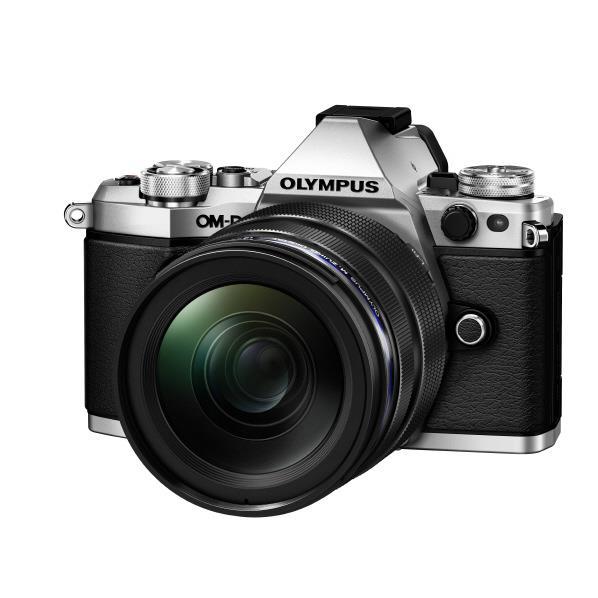 オリンパス デジタル一眼カメラ・12-40mm F2.8 レンズキット OM-D E-M5 Mark II シルバー OM-DE-M5MARK2LK1240SLV [OMDEM5MK2LK1240PROSLV]【RNH】