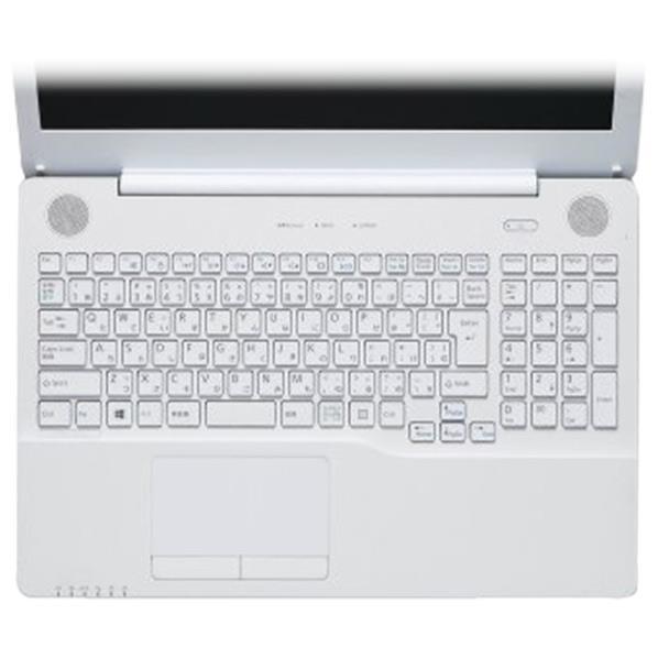 富士通 LIFEBOOK AHシリーズ 対応のキーボード防塵カバーです。キーボードの汚れを防ぎ、清潔に使うことのお役に立ちます。 エレコム キーボード防塵カバー PKB-FMVAH7 [PKBFMVAH7]
