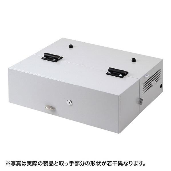 サンワサプライ ノートパソコンセキュリティ収納BOX SL-70BOX [SL70BOX]