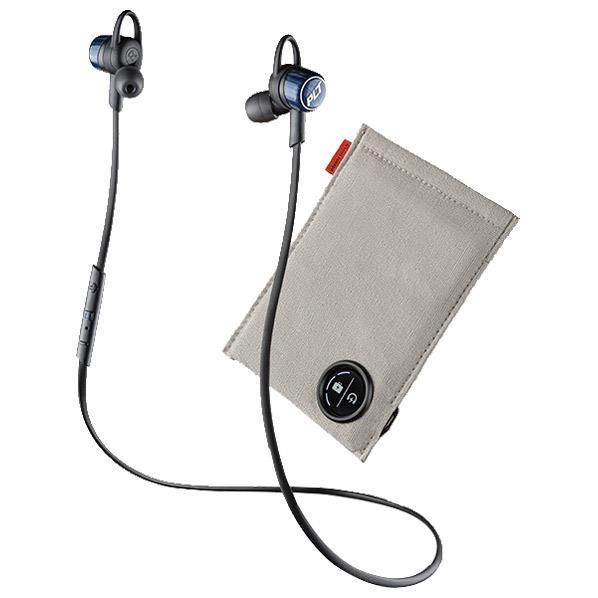 プラントロニクス Bluetooth ステレオヘッドセット 充電ケース付 BackBeat GO3 コバルトブラック BACKBEATGO3-CB-C [BACKBEATGO3CBC]