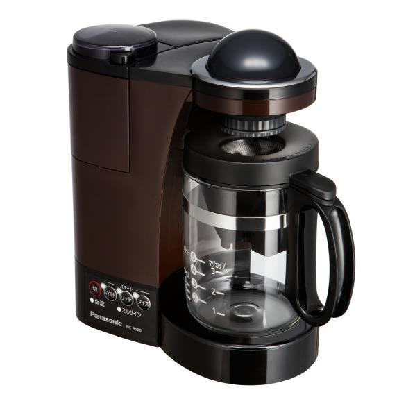 パナソニック コーヒーメーカー ブラウン NC-R500-T [NCR500T]【RNH】