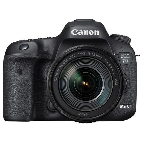 【送料無料】キヤノン デジタル一眼レフカメラ・EF-S18-135 IS USM レンズキット・W-E1 EOS ブラック EOS7DMK2LKWE1 [EOS7DMK2LKWE1]【RNH】
