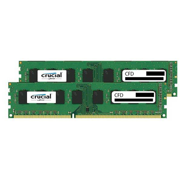 CFD DDR3-1600対応 デスクトップPC用メモリ 240pin DIMM(8GB×2枚組) CFD Selection Crucial by Micron W3U1600CM-8G [W3U1600CM8G]