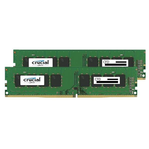 CFD DDR4-2400対応 デスクトップPC用メモリ 288pin DIMM(16GB×2枚組) CFD Selection Crucial by Micron W4U2400CM-16G [W4U2400CM16G]