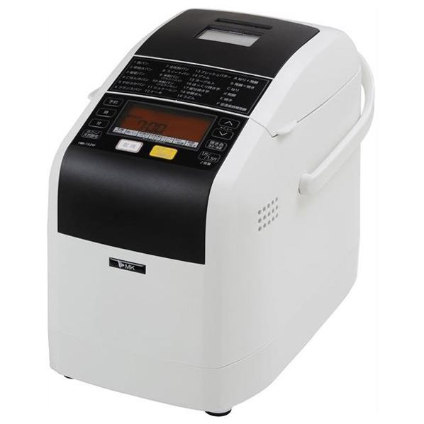 【送料無料】エムケー ホームベーカリー 1.5斤タイプ ふっくらパン屋さん ホワイト HBK-152W [HBK152W]【RNH】