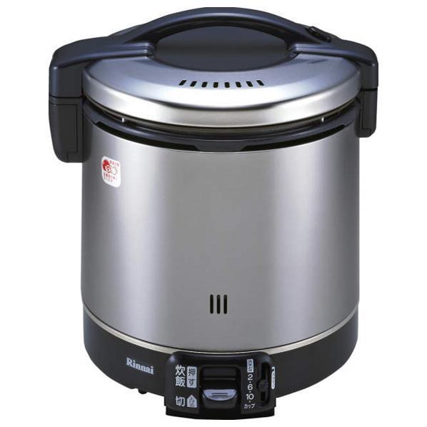 リンナイ 【プロパンガス用】ガス炊飯器(11合炊き) こがまる ブラック RR-100GS-C-LP [RR100GSCP]