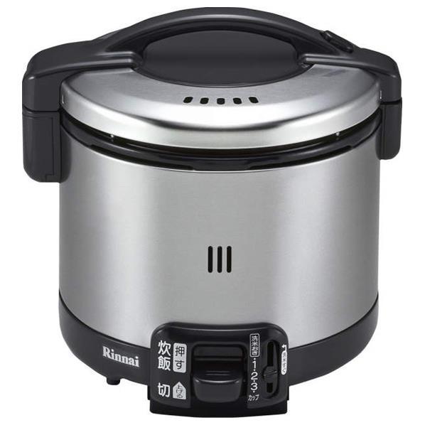 リンナイ 【都市ガス13A用】ガス炊飯器(3.5合炊き) こがまる ブラック RR-035GS-D-13A [RR035GSDT]