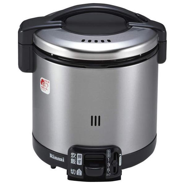 リンナイ 【都市ガス13A用】ガス炊飯器(5.5合炊き) こがまる ブラック RR-055GS-D-13A [RR055GSDT]