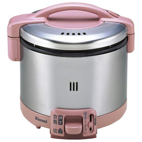 リンナイ 【都市ガス13A用】ガス炊飯器(3.5合炊き) こがまる ローズピンク RR-035GS-D(RP)-13A [RR035GSDRPT]