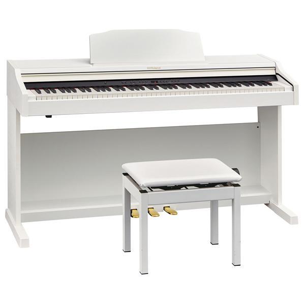 【送料無料】ローランド 電子ピアノ ホワイト RP501R-WHS [RP501RWHS]