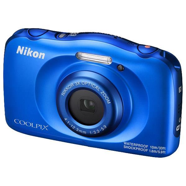 【送料無料】ニコン デジタルカメラ COOLPIX W100 ブルー COOLPIXW100BL [COOLPIXW100BL]【RNH】