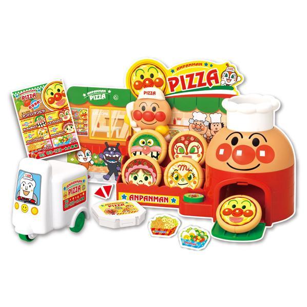 大人気のおみせやさんごっこシリーズに 日本メーカー新品 新生活 ピザやさんが新登場 セガトイズ アンパンマン バイクでおとどけ APタクハイピザヤサン 宅配ピザやさん