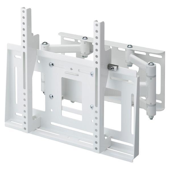 【送料無料】ハヤミ 壁掛金具 前後左右角度調節タイプ(~55V型対応) HAMILEX MHシリーズ ホワイト MH-655W [MH655W]