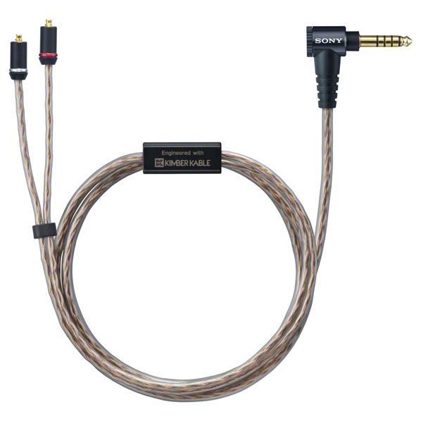 KIMBER 格安店 KABLE R 社と協力した 新規格Φ4.4mmバランス接続端子対応ヘッドホンケーブル XBAシリーズ対応機種をより高音質で楽しめる SONY ヘッドフォンケーブル m 人気 MUCM12SB1 1.2 MUC-M12SB1 C