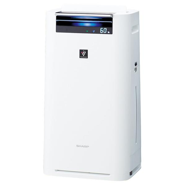 シャープ 加湿空気清浄機 ホワイト系 KIGS50W [KIGS50W]【RNH】