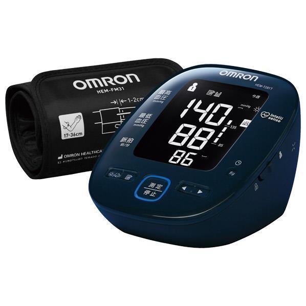 【送料無料】オムロン 上腕式血圧計 HEM-7281T [HEM7281T]【RNH】