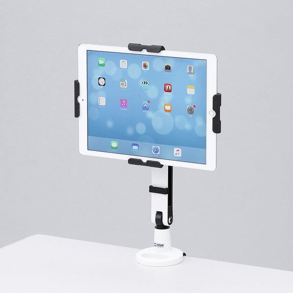 【送料無料】サンワサプライ 11~13インチ対応iPad・タブレット用アーム CR-LATAB23 [CRLATAB23]