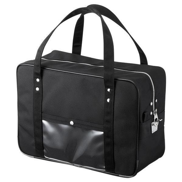 サンワサプライ メールボストンバッグ(Mサイズ) ブラック BAG-MAIL1BK [BAGMAIL1BK]
