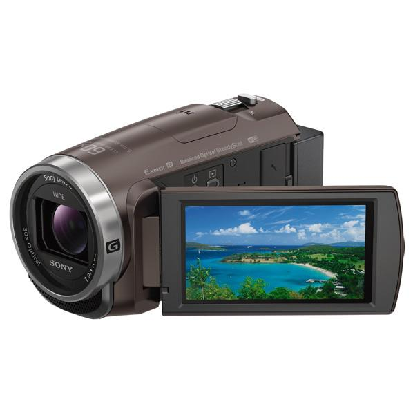 SONY 64GB内蔵メモリー デジタルHDビデオカメラレコーダー ハンディカム ブラウン HDR-CX680 TI [HDRCX680TI]【RNH】