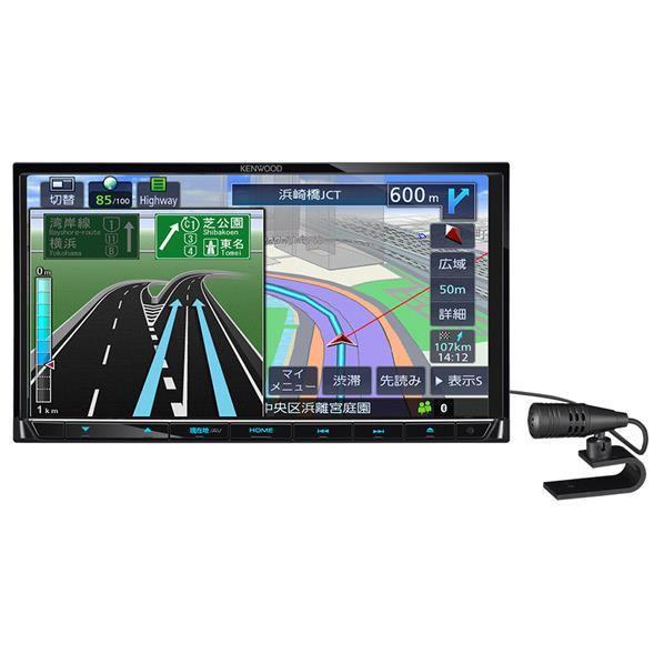 KENWOODケネックス 地上デジタルTVチューナー/Bluetooth内蔵 DVD/USB/SD AVナビゲーションシステム 彩速ナビ MDV-L504 [MDVL504]【RNH】