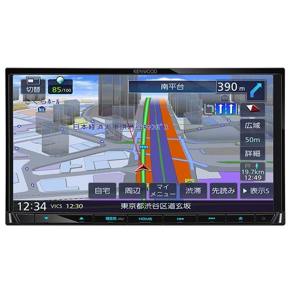 KENWOODケネックス ワンセグTVチューナー内蔵 DVD/USB/SD AVナビゲーションシステム 彩速ナビ MDV-L404 [MDVL404]【RNH】【MMARP】